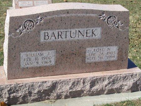 BARTUNEK, WILLIAM J. - Buffalo County, Nebraska   WILLIAM J. BARTUNEK - Nebraska Gravestone Photos