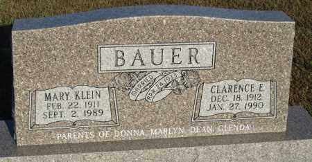 BAUER, MARY - Buffalo County, Nebraska | MARY BAUER - Nebraska Gravestone Photos