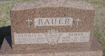 BAUER, ELMER - Buffalo County, Nebraska | ELMER BAUER - Nebraska Gravestone Photos