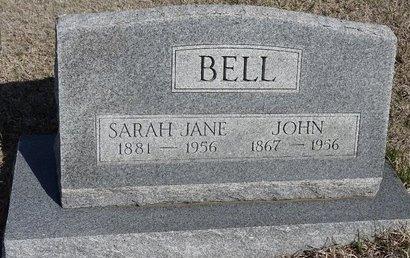 BELL, JOHN - Buffalo County, Nebraska | JOHN BELL - Nebraska Gravestone Photos