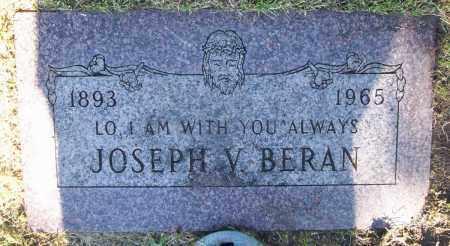 BERAN, JOSEPH V. - Buffalo County, Nebraska   JOSEPH V. BERAN - Nebraska Gravestone Photos