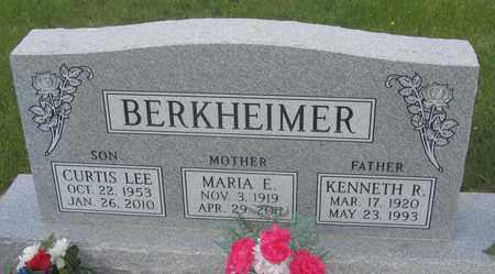 BERKHEIMER, KENNETH - Buffalo County, Nebraska | KENNETH BERKHEIMER - Nebraska Gravestone Photos