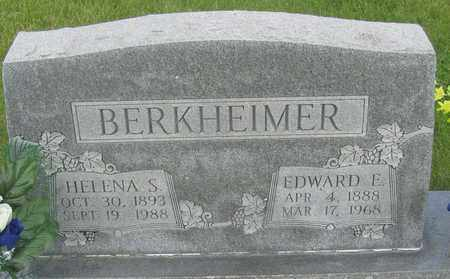 BERKHEIMER, EDWARD - Buffalo County, Nebraska | EDWARD BERKHEIMER - Nebraska Gravestone Photos