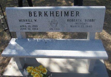 BERKHEIMER, ROBERTA - Buffalo County, Nebraska | ROBERTA BERKHEIMER - Nebraska Gravestone Photos