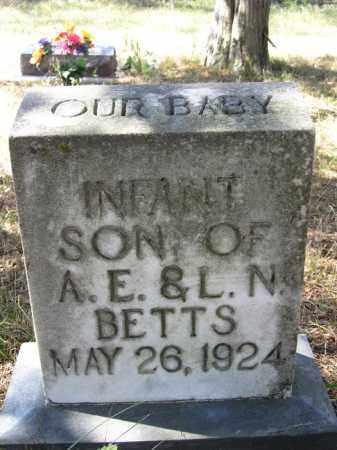 BETTS, INFANT BOY - Buffalo County, Nebraska | INFANT BOY BETTS - Nebraska Gravestone Photos