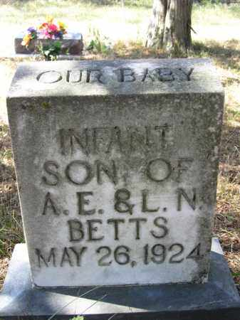 BETTS, INFANT BOY - Buffalo County, Nebraska | INFANT BOY BETTS - Nebraska Gravestone Photos