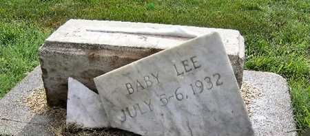 "BLACKLEDGE, ""BABY LEE"" - Buffalo County, Nebraska 