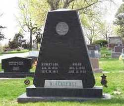 BLACKLEDGE, HOBERT LEE - Buffalo County, Nebraska | HOBERT LEE BLACKLEDGE - Nebraska Gravestone Photos