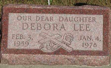 BOCK, DEBORA LEE - Buffalo County, Nebraska | DEBORA LEE BOCK - Nebraska Gravestone Photos