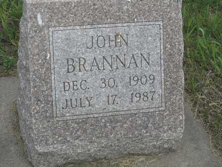 BRANNAN, JOHN - Buffalo County, Nebraska | JOHN BRANNAN - Nebraska Gravestone Photos