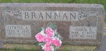 BRANNAN, OPAL - Buffalo County, Nebraska | OPAL BRANNAN - Nebraska Gravestone Photos