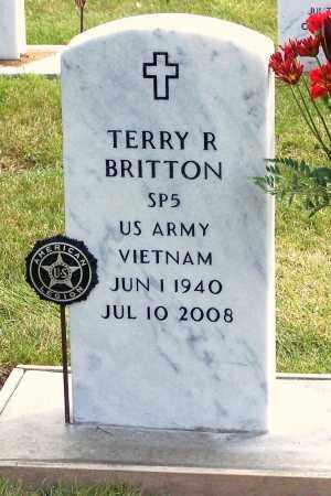 BRITTON, TERRY - Buffalo County, Nebraska | TERRY BRITTON - Nebraska Gravestone Photos