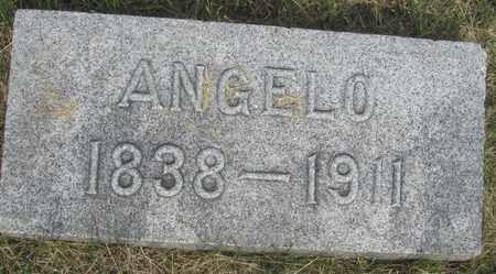 BROWN, ANGELO - Buffalo County, Nebraska | ANGELO BROWN - Nebraska Gravestone Photos