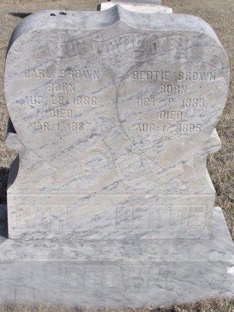 BROWN, CARL - Buffalo County, Nebraska | CARL BROWN - Nebraska Gravestone Photos