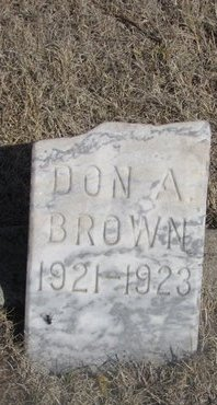 BROWN, DON A. - Buffalo County, Nebraska | DON A. BROWN - Nebraska Gravestone Photos