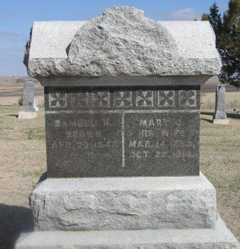 BROWN, SAMUEL H. - Buffalo County, Nebraska | SAMUEL H. BROWN - Nebraska Gravestone Photos