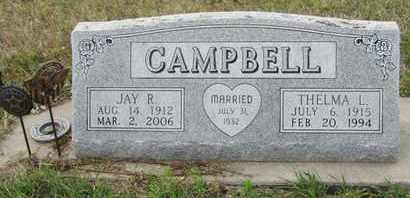 CAMPBELL, THELMA - Buffalo County, Nebraska | THELMA CAMPBELL - Nebraska Gravestone Photos