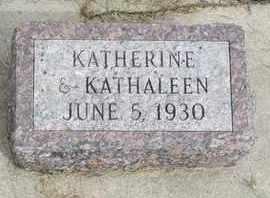 CAMPBELL, KATHERINE - Buffalo County, Nebraska   KATHERINE CAMPBELL - Nebraska Gravestone Photos