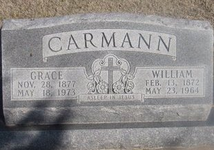 CARMANN, WILLIAM - Buffalo County, Nebraska | WILLIAM CARMANN - Nebraska Gravestone Photos