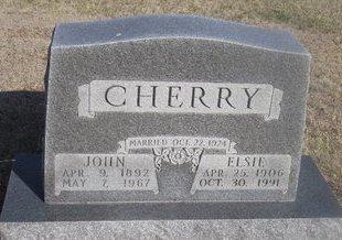 CHERRY, JOHN - Buffalo County, Nebraska | JOHN CHERRY - Nebraska Gravestone Photos