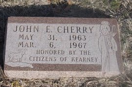 CHERRY, JOHN E. - Buffalo County, Nebraska | JOHN E. CHERRY - Nebraska Gravestone Photos