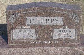 CHERRY, MERLE R. - Buffalo County, Nebraska | MERLE R. CHERRY - Nebraska Gravestone Photos