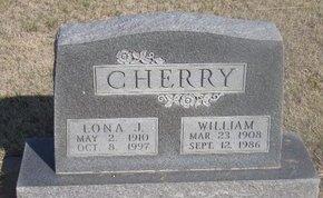 CHERRY, WILLIAM - Buffalo County, Nebraska | WILLIAM CHERRY - Nebraska Gravestone Photos