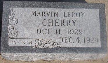 CHERRY, MARVIN LEROY - Buffalo County, Nebraska | MARVIN LEROY CHERRY - Nebraska Gravestone Photos