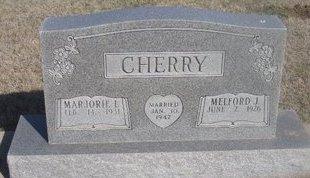CHERRY, MARJORIE L. - Buffalo County, Nebraska   MARJORIE L. CHERRY - Nebraska Gravestone Photos