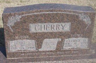 CHERRY, GEORGE H. - Buffalo County, Nebraska | GEORGE H. CHERRY - Nebraska Gravestone Photos