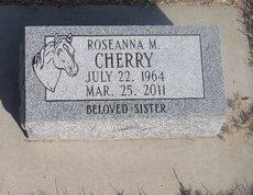 CHERRY, ROSEANNA M. - Buffalo County, Nebraska | ROSEANNA M. CHERRY - Nebraska Gravestone Photos