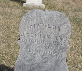CHICKLING, MATILDA - Buffalo County, Nebraska   MATILDA CHICKLING - Nebraska Gravestone Photos