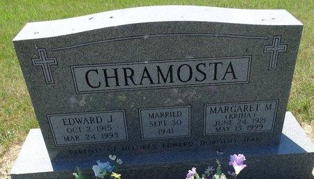 KRIHA CHRAMOSTA, MARGARET M. - Buffalo County, Nebraska   MARGARET M. KRIHA CHRAMOSTA - Nebraska Gravestone Photos