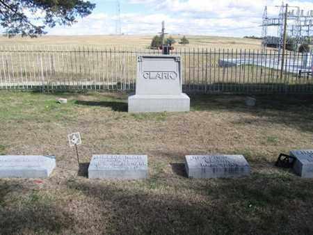 CLARK, FAMILY - Buffalo County, Nebraska | FAMILY CLARK - Nebraska Gravestone Photos