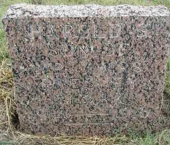 CLARK, HAROLD - Buffalo County, Nebraska   HAROLD CLARK - Nebraska Gravestone Photos