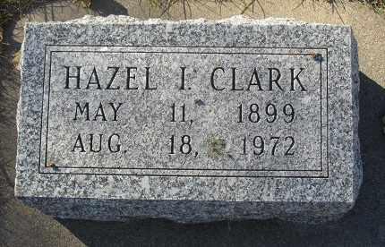 CLARK, HAZEL - Buffalo County, Nebraska | HAZEL CLARK - Nebraska Gravestone Photos