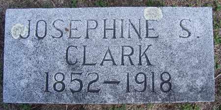 CLARK, JOSEPHINE - Buffalo County, Nebraska | JOSEPHINE CLARK - Nebraska Gravestone Photos