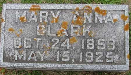 CLARK, MARY - Buffalo County, Nebraska | MARY CLARK - Nebraska Gravestone Photos
