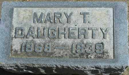 DAUGHERTY, MARY T, - Buffalo County, Nebraska | MARY T, DAUGHERTY - Nebraska Gravestone Photos