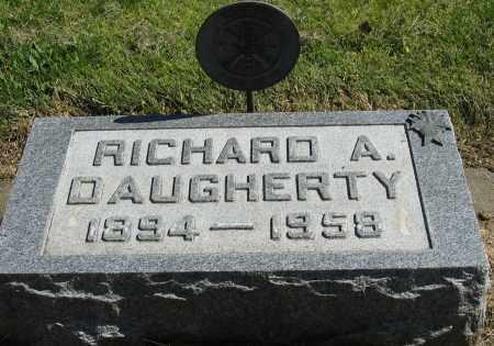 DAUGHERTY, RICHARD A. - Buffalo County, Nebraska | RICHARD A. DAUGHERTY - Nebraska Gravestone Photos