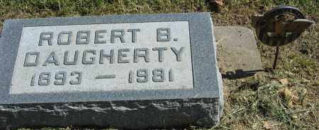 DAUGHERTY, ROBERT B. - Buffalo County, Nebraska   ROBERT B. DAUGHERTY - Nebraska Gravestone Photos