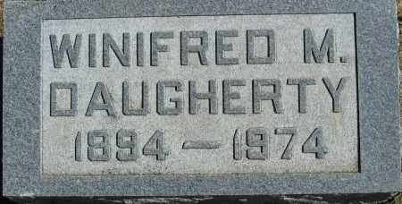 DAUGHERTY, WINIFRED M. - Buffalo County, Nebraska | WINIFRED M. DAUGHERTY - Nebraska Gravestone Photos