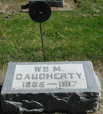 DAUGHERTY, WILLIAM M. - Buffalo County, Nebraska | WILLIAM M. DAUGHERTY - Nebraska Gravestone Photos