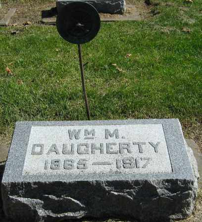 DAUGHERTY, WILLIAM M. - Buffalo County, Nebraska | WILLIAM M. DAUGHERTY - Nebraska Gravestone Photos