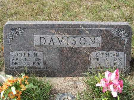 DAVISON, LOTTIE - Buffalo County, Nebraska | LOTTIE DAVISON - Nebraska Gravestone Photos