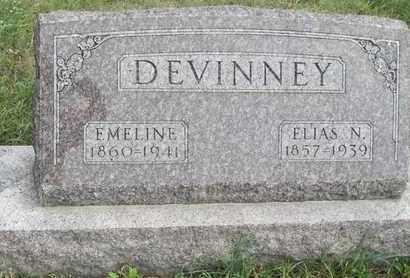 DEVINNEY, EMELINE - Buffalo County, Nebraska | EMELINE DEVINNEY - Nebraska Gravestone Photos