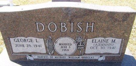AXMANN DOBISH, ELAINE M. - Buffalo County, Nebraska | ELAINE M. AXMANN DOBISH - Nebraska Gravestone Photos