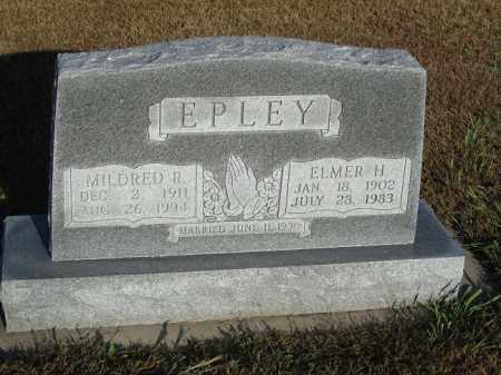 EPLEY, MILDRED R. - Buffalo County, Nebraska | MILDRED R. EPLEY - Nebraska Gravestone Photos