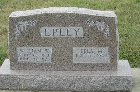 EPLEY, WILLIAM - Buffalo County, Nebraska | WILLIAM EPLEY - Nebraska Gravestone Photos