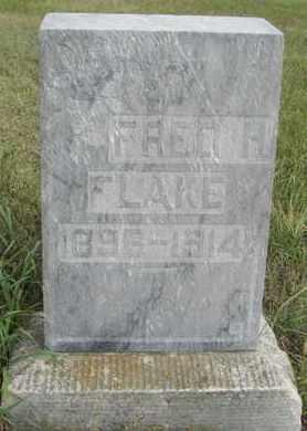 FLAKE, FRED - Buffalo County, Nebraska | FRED FLAKE - Nebraska Gravestone Photos
